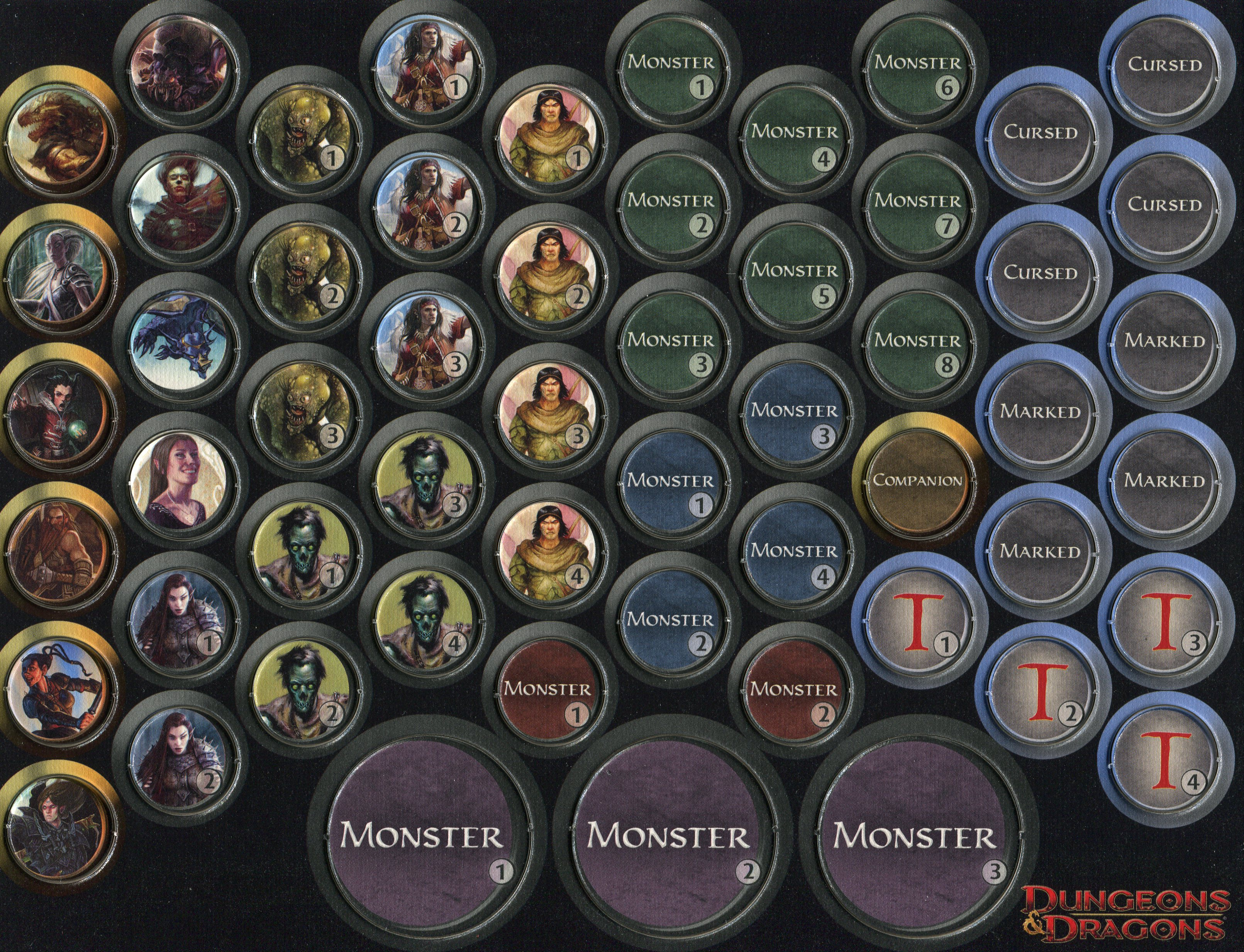 Satisfactory image within d&d monster tokens printable