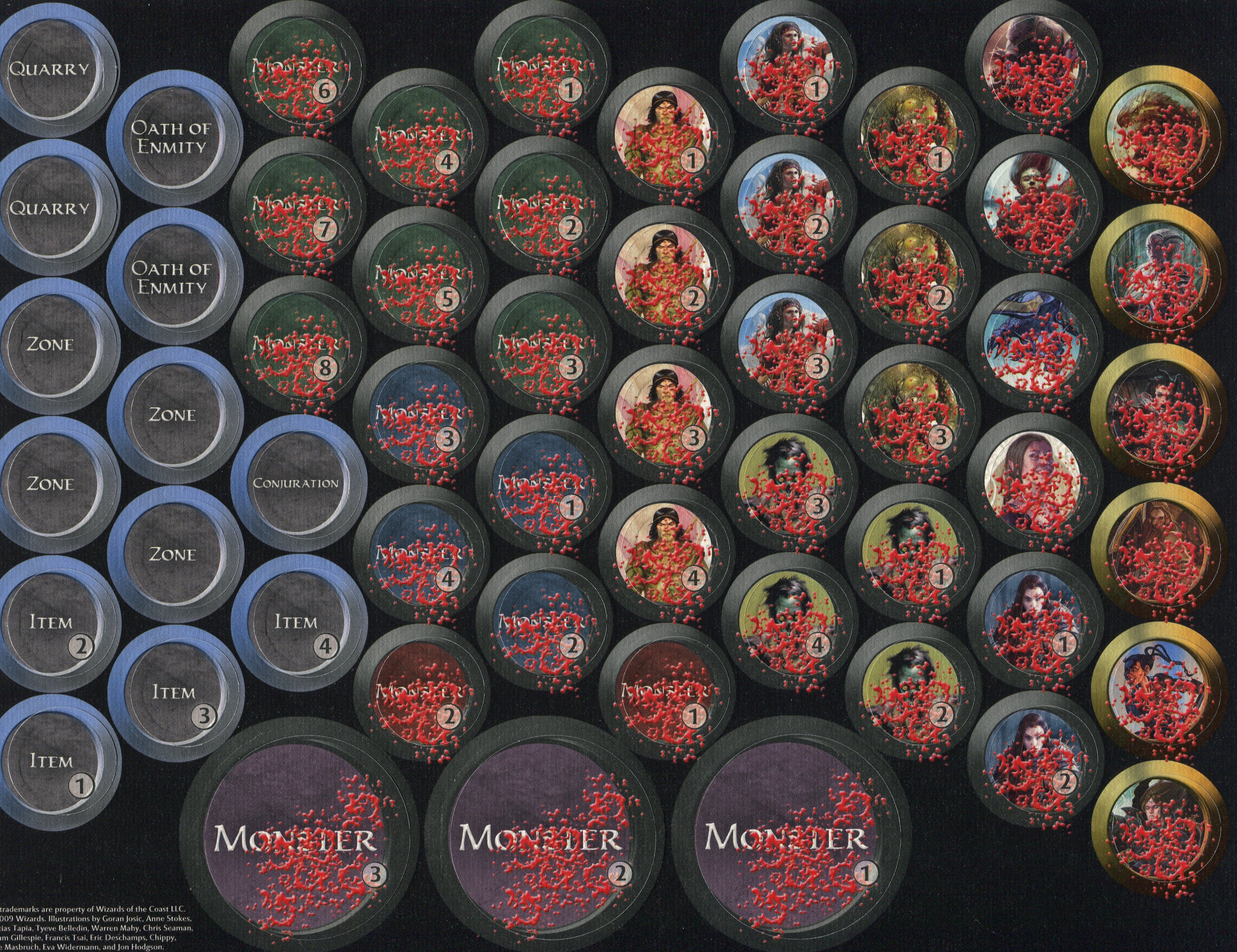Accomplished image regarding d&d monster tokens printable