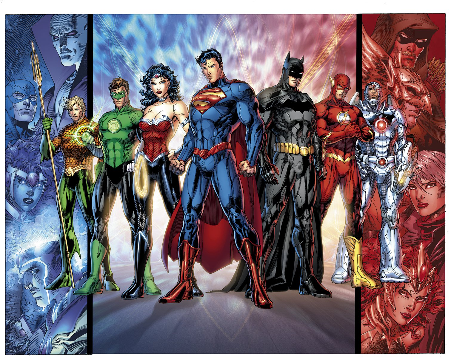 justice league characters images