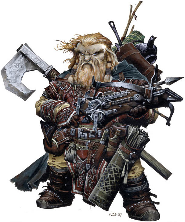 The Dwarf Archetype from Pathfinder