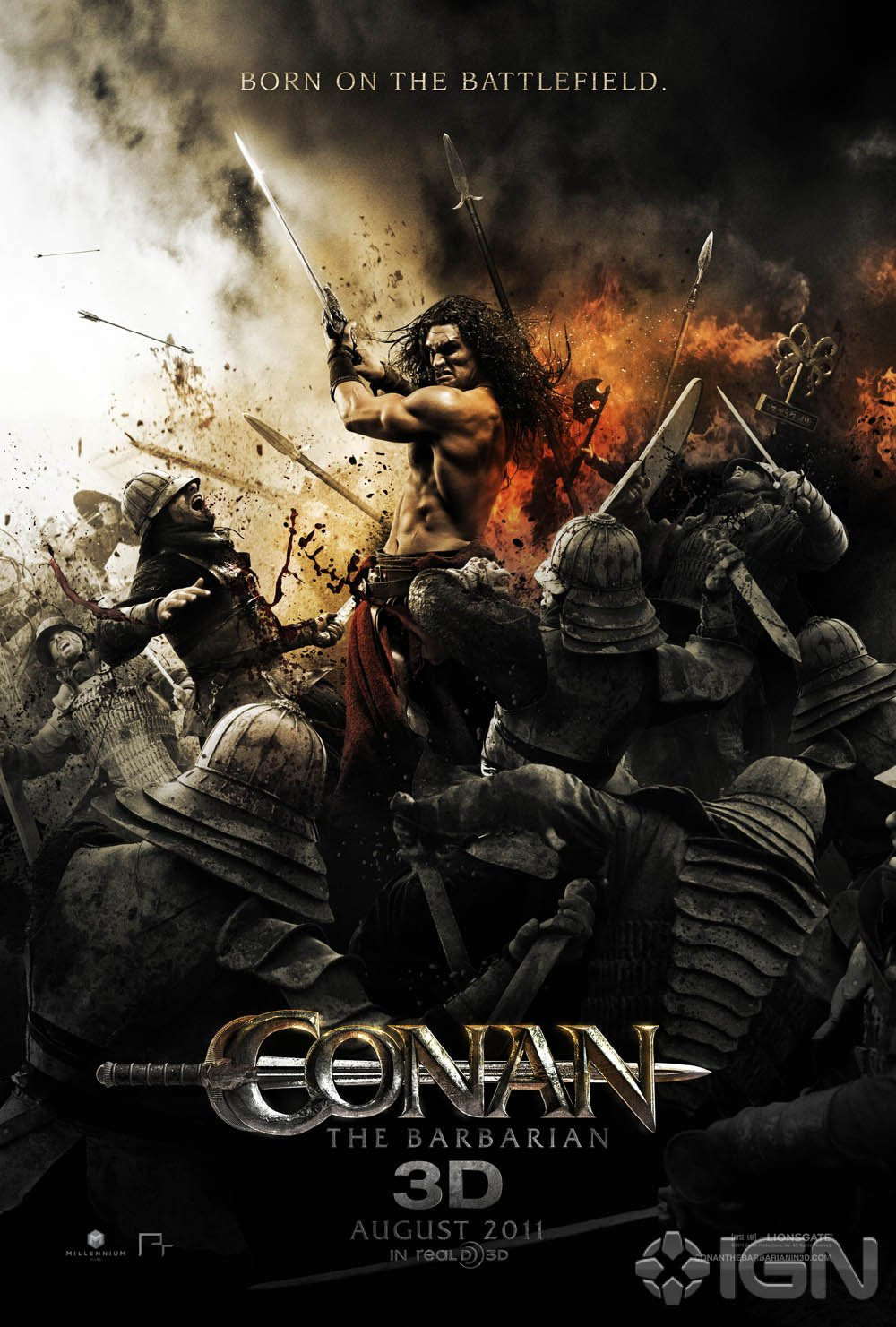 Unless you have been living under a rock you know that Conan is back!  That's right later this summer everyone's favourite barbarian will once  again be on ...