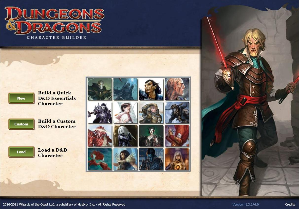 d d next and the fate of character builder dungeon s master