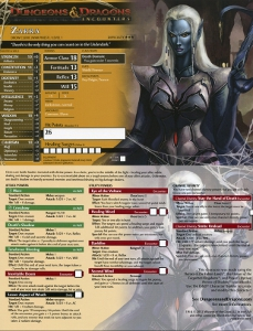 Pre-Generated Character Library | Dungeon's Master