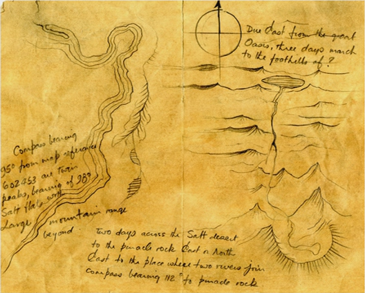 The 5 Ws Of Treasure Maps Dungeons Master