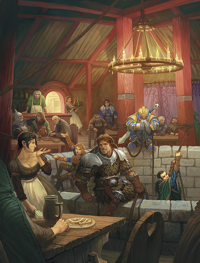 Dnd Gaming Room