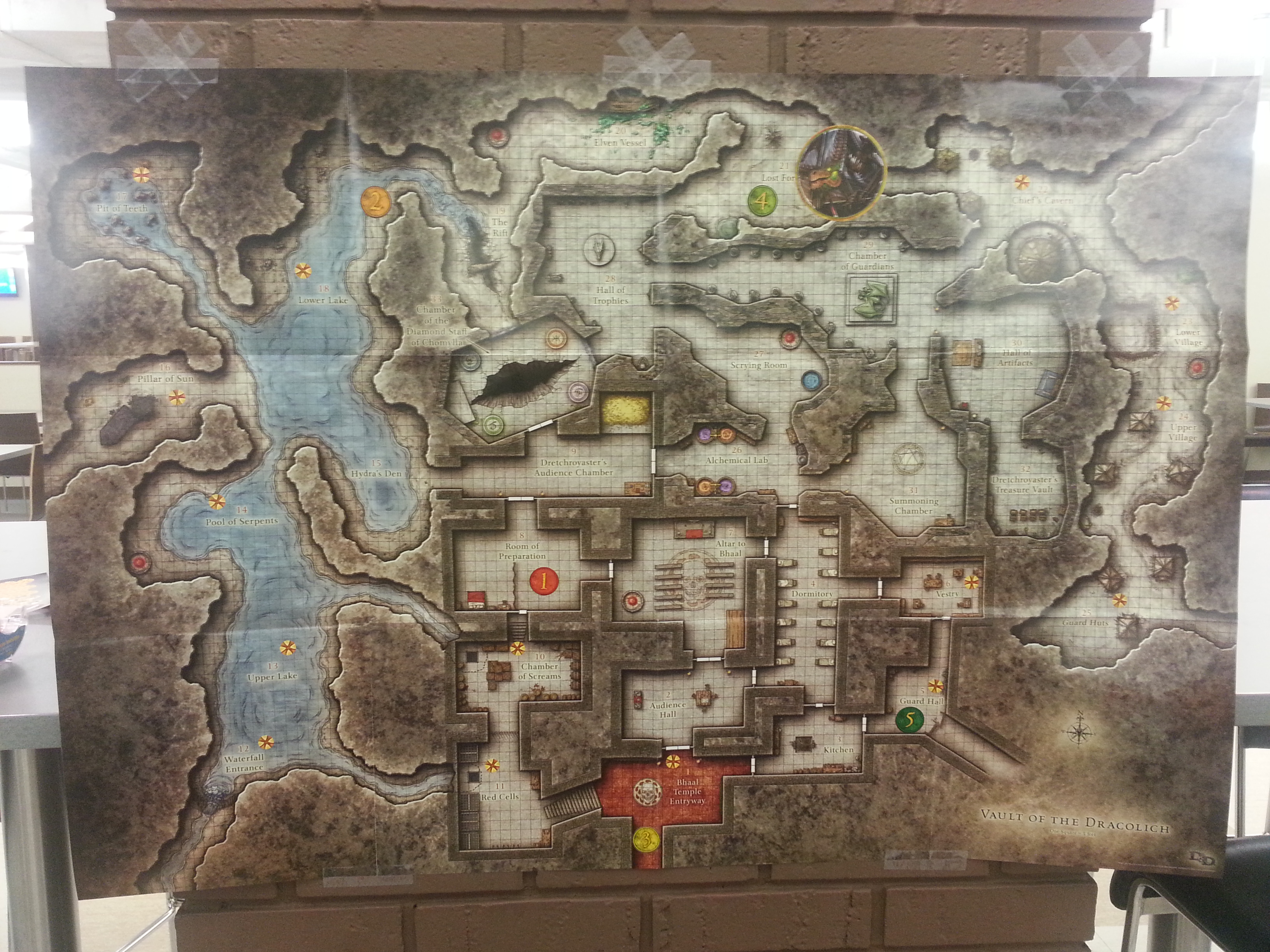 Dungeon Floor Plans D Amp D Game Day Vault Of The Dracolich Wrap Up Dungeon S
